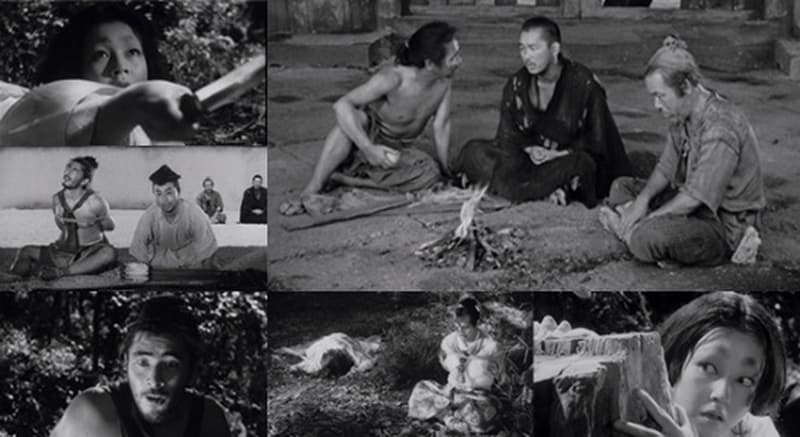 Rashomon Screenplay Structures