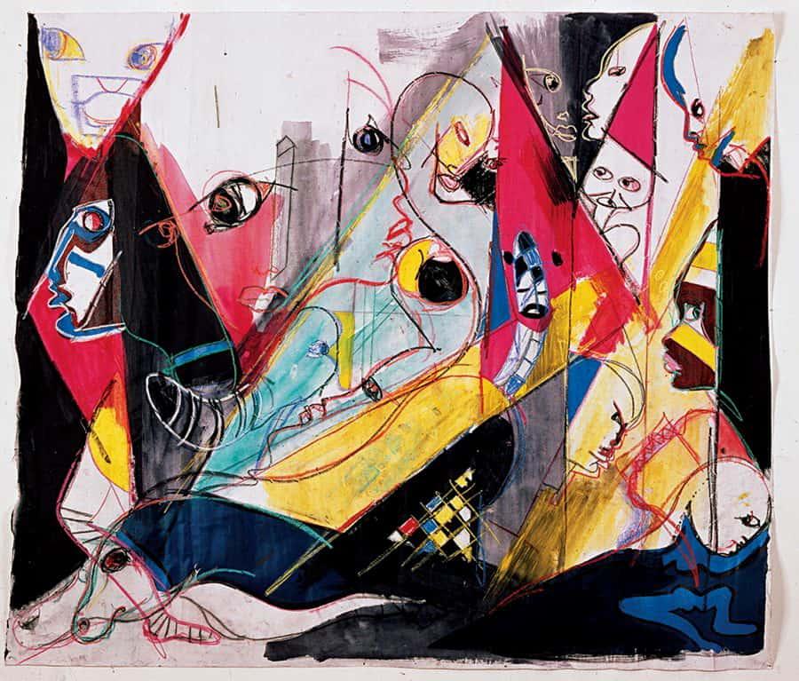 Miles Davis Art Work @artesecontextos