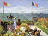 Claude Monet - Jardin à Sainte Adresse