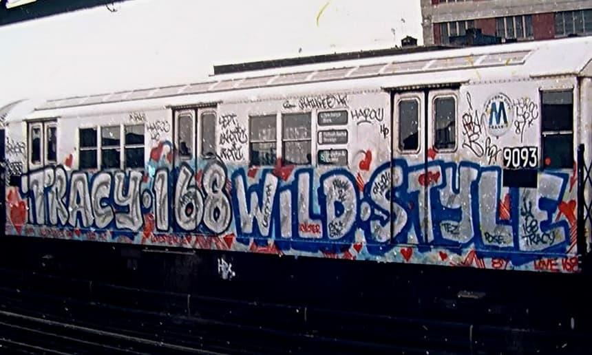 A Evolução da Arte Urbana Artes & contextos Wildstyle graffiti by Tracy 168 Image WikiArt