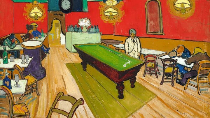 A Coleção Arthur Hahnloser no Museu Albertina em Viena Artes & contextos Van Gogh. Le café de nuit en Arles. 1888. 70x89cm. Reto Pedrini