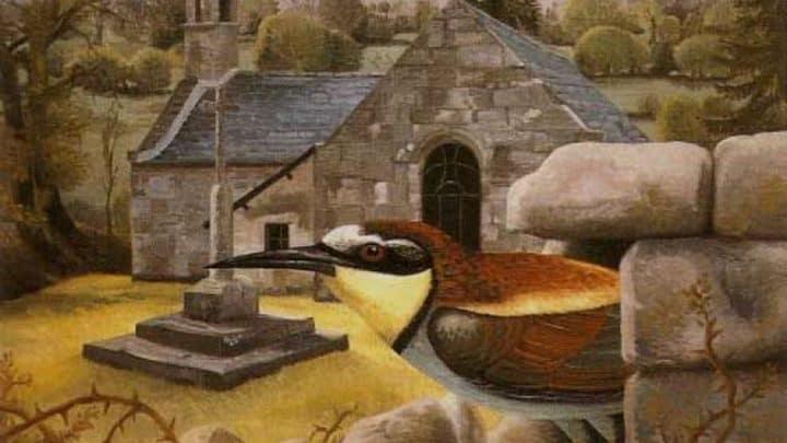 Fernando Savater, por Juan Carlos Savater, óleo sobre lienzo.