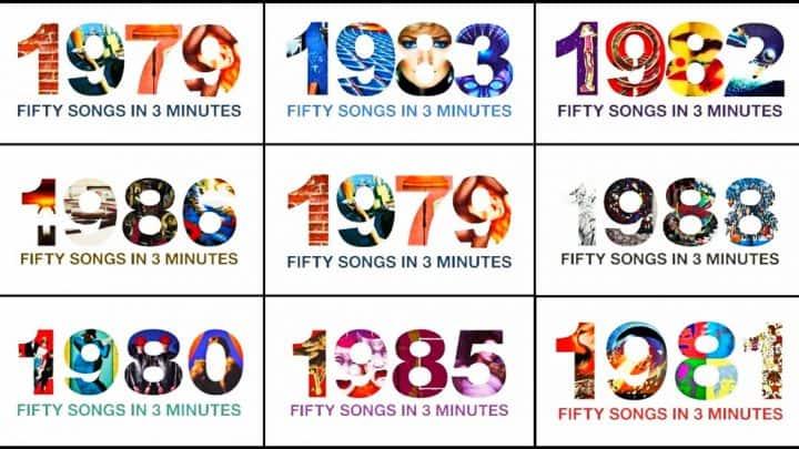 50 Músicas em 3 minutos