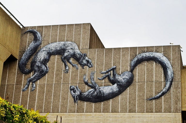 ROA Londres, Inglaterra (2013)