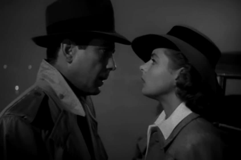 Humphrey Bogart - Casablanca (1942) com Ingrid Bergmann