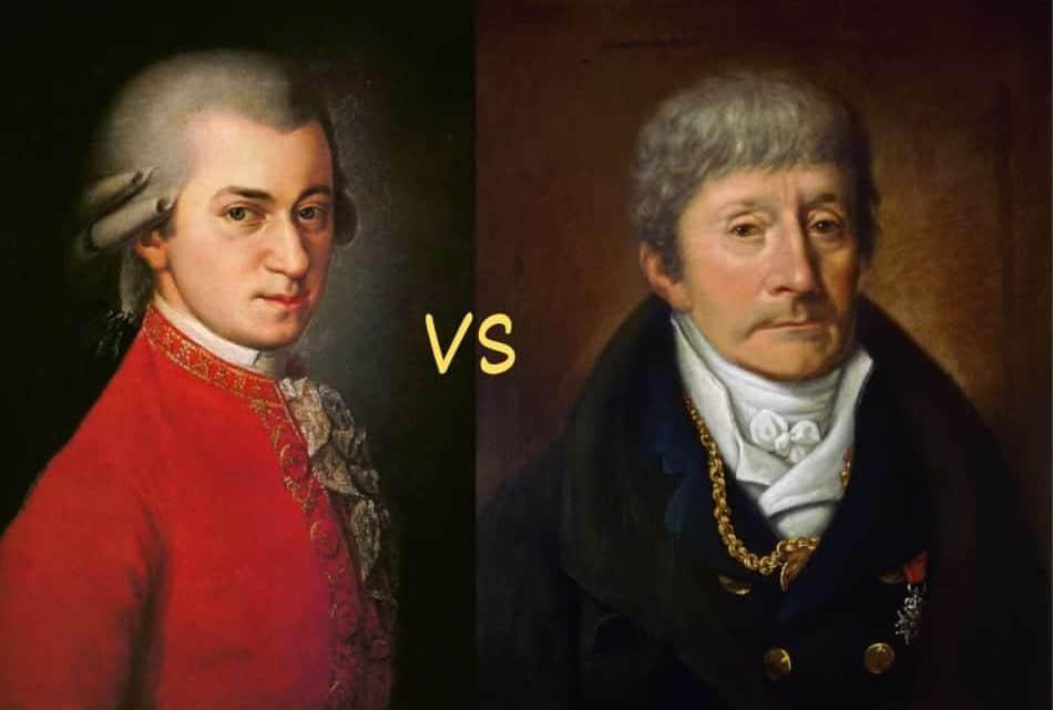Mozart Vs Salieri