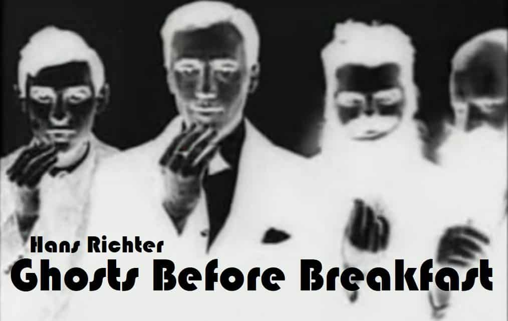 Ghosts Before Breakfast (1928) Hans Richter 5
