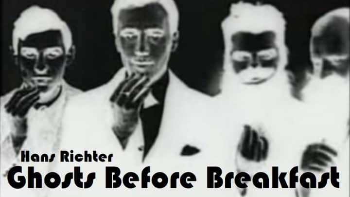 Ghosts Before Breakfast (1928) Hans Richter 5