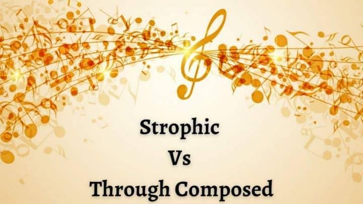 Forma estrófica vs estrutura composta Artes & contextos Strophic Vs Through Composed