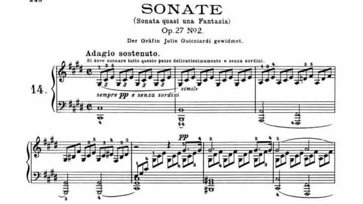 Sonata Op. 27 Nº 2