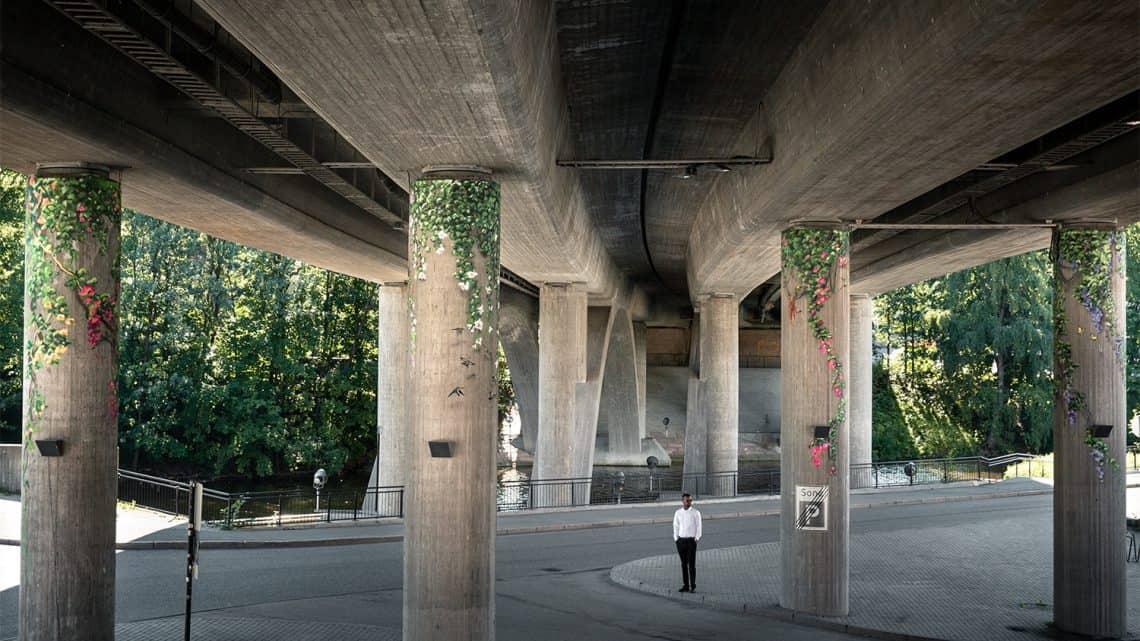 """""""Selva de Cimento"""" de Xenz Artes & contextos concrete jungle by xenz in sandvika norway"""