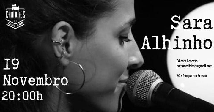 Sara Alhinho - ao vivo Artes & contextos 940054 c46bc69a9136904df1942c0d847cd924
