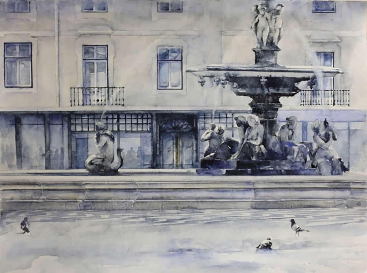 """""""Cidade"""" Artes & contextos PauloOssiao Rossio"""