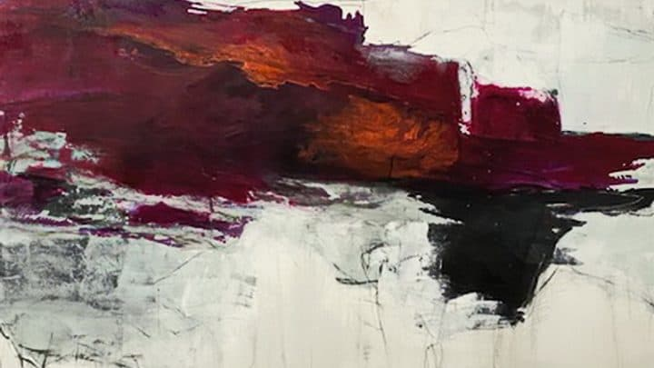 A pintura abstrata de Juanita Bellevance Artes & contextos Juanita Bellevance FI
