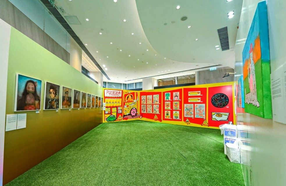 """Exposição coletiva """"Art Bodega"""" no K11 Art Mall, Hong Kong Artes & contextos Art Bodega"""