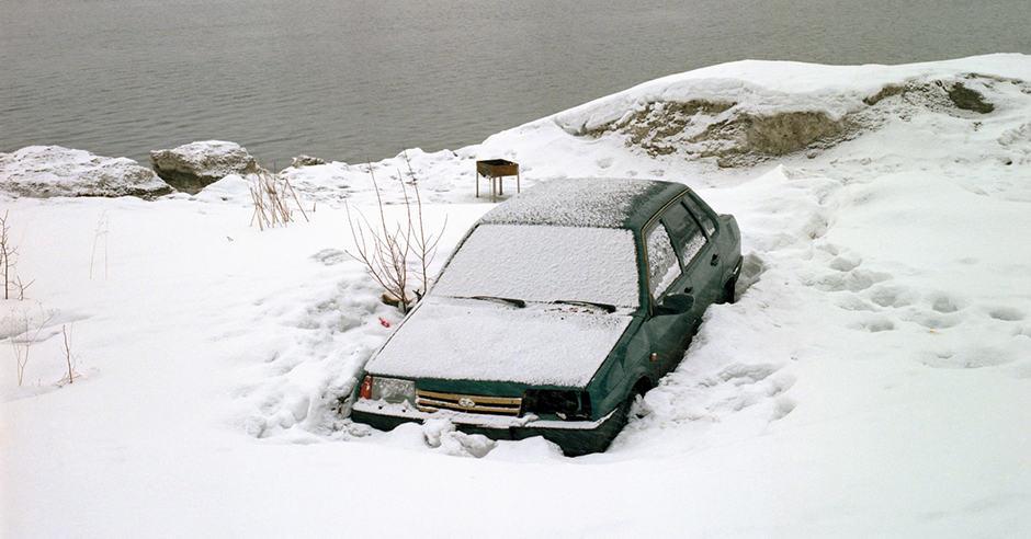 """Snow Desert"" do Fotógrafo Mikhail Lebedev Artes & contextos snow desert by photographer mikhail lebedev"