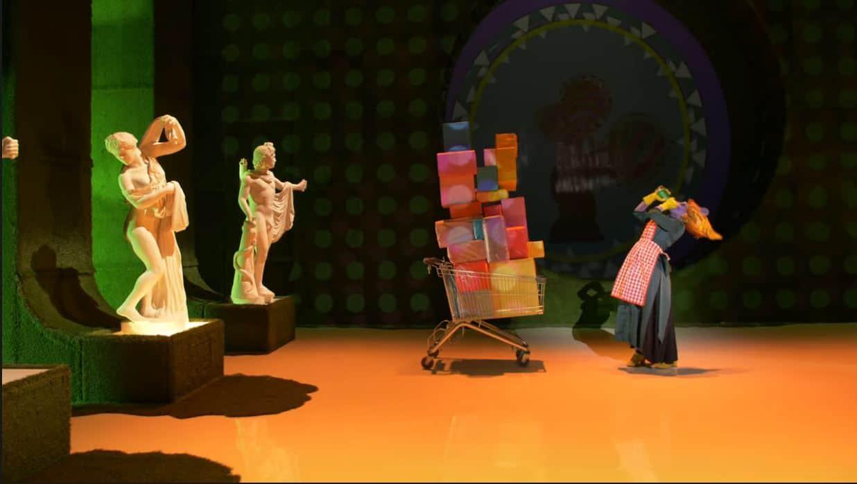 Rui Paixão em Hamster Clown encenado por Ricardo Neves-Neves