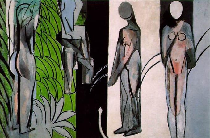 O Fauvismo e Henri Matisse Artes & contextos bathers by a river 1916.jpgLarge