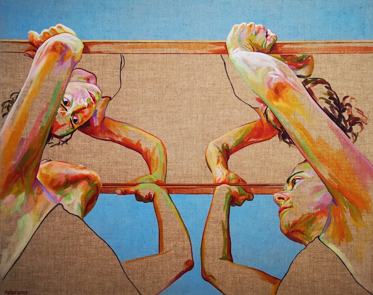 "Cristina Troufa Expõe ""FORTE"" Artes & contextos Roof Cristna Troufa"