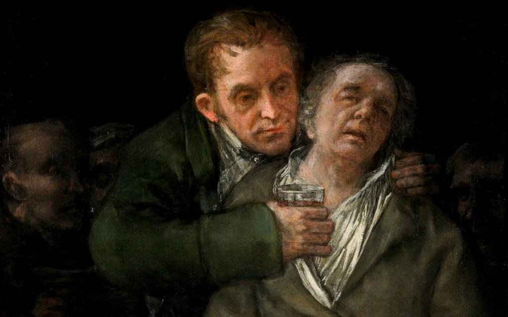 Francisco de Goya, en homenaje al doctor Arrieta